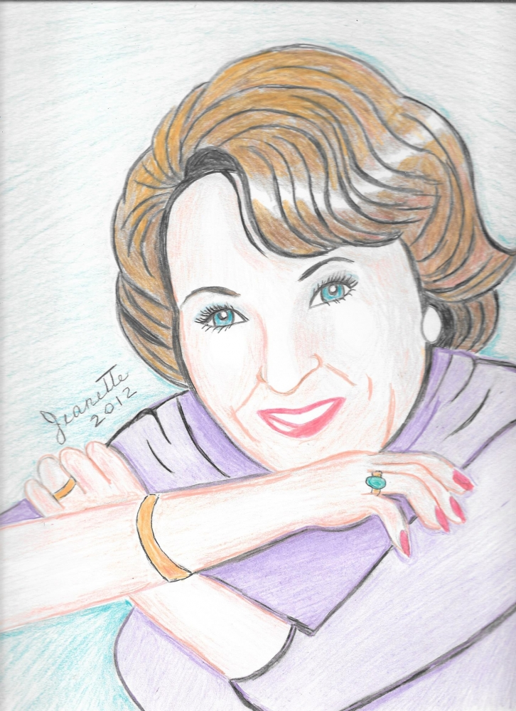 Betty White por Jeanette